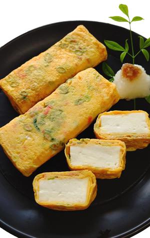 潮豆腐の卵焼き