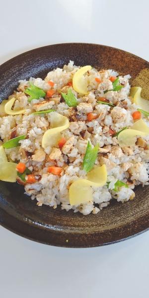 潮豆腐のまぜ寿司